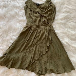 Olive Green Summer dress